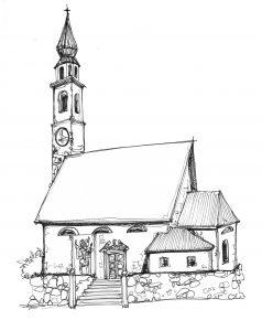 Chiesa di Imèr Santi Pietro e Paolo